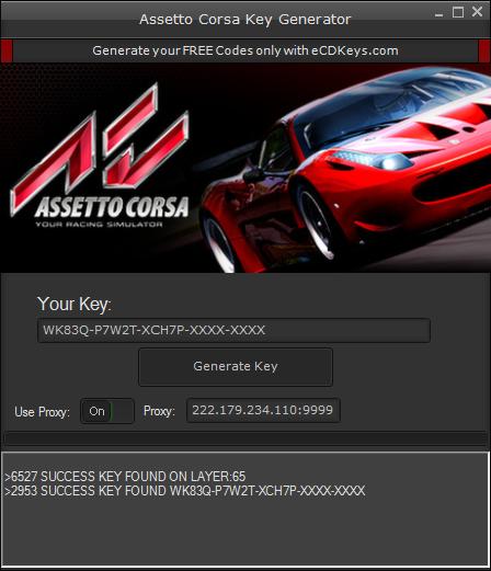 Assetto Corsa cd-key