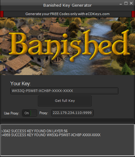 Banished cd-key