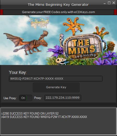 The Mims Beginning cd-key