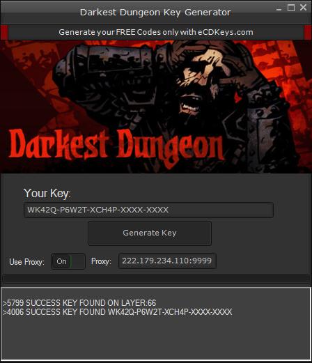 Darkest Dungeon cd-key