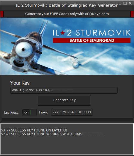 IL-2 Sturmovik: Battle of Stalingrad cd-key