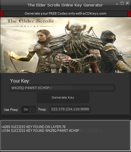 The Elder Scrolls Online cd-key