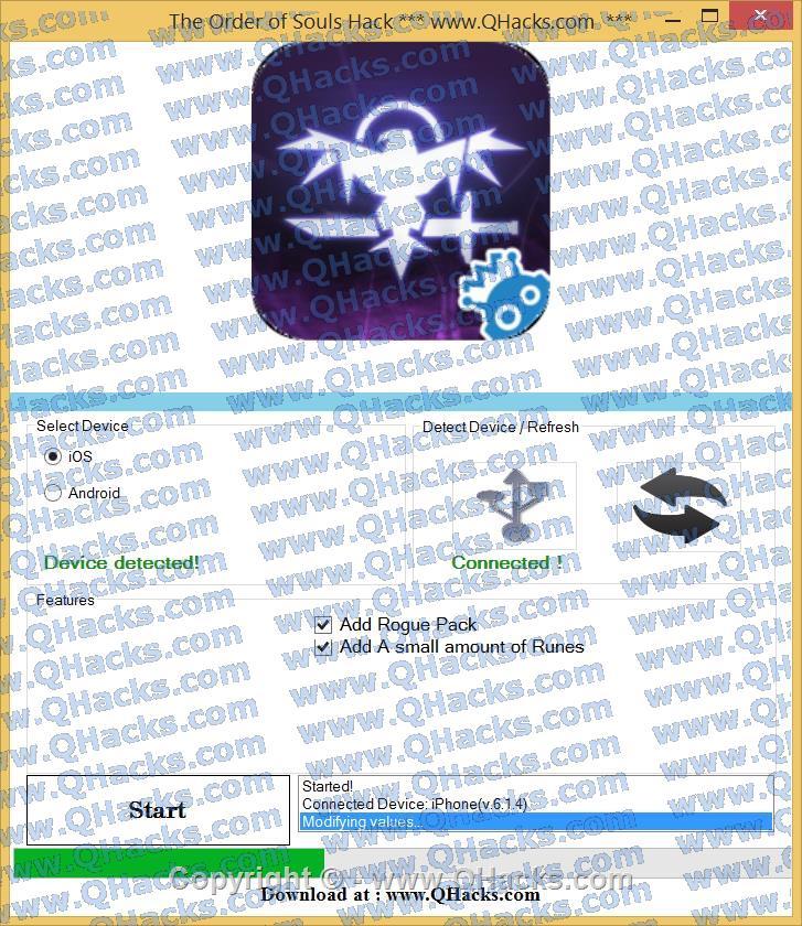 The Order of Souls hacks