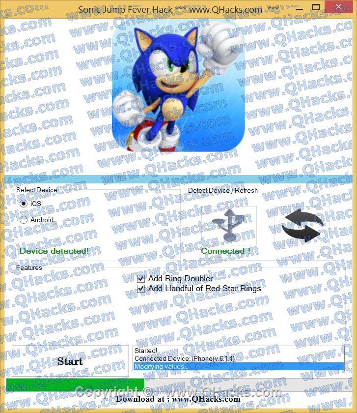 Sonic Jump Fever hacks