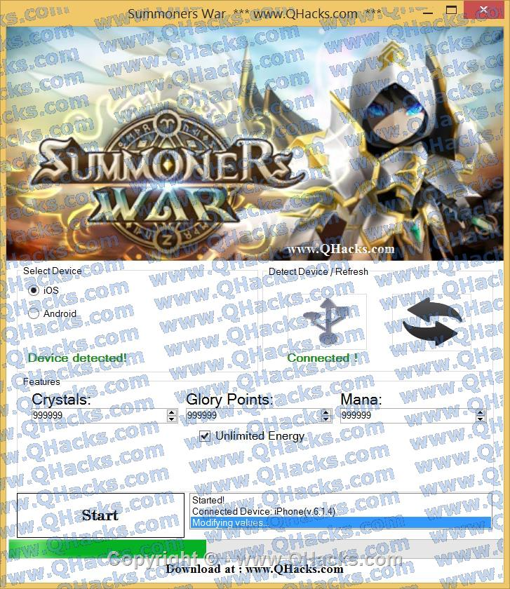 Summoners War hacks