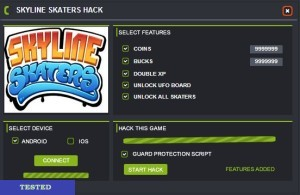 Skyline Skaters Hack
