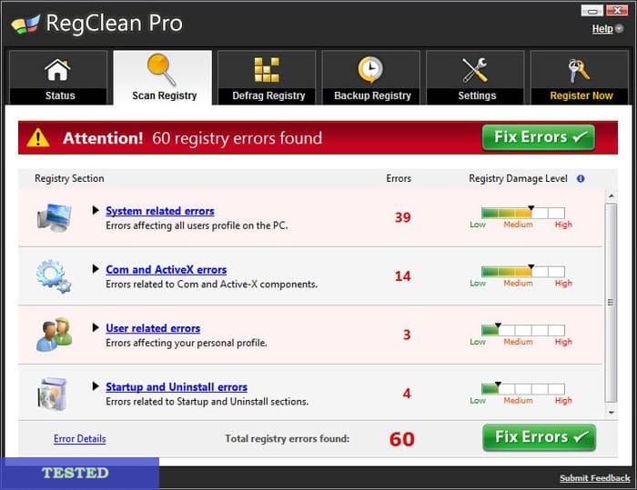 RegClean Pro License Crack