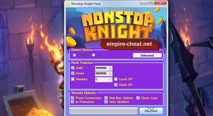 Nonstop Knight Hack Cheat
