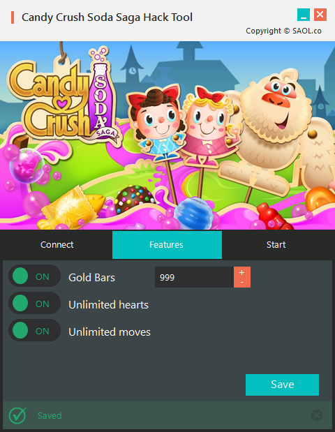 Candy Crush Soda Saga Hack Tool