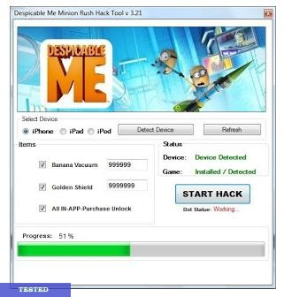Despicable Me 2 Hack Tool
