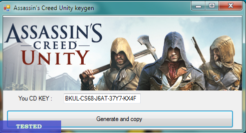 Assassins Creed Unity Serial Key Generator