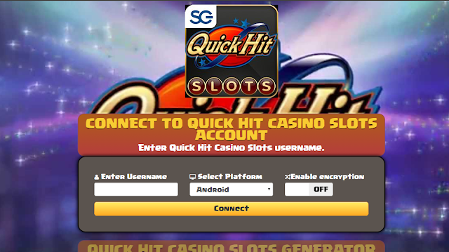 Quick Hit Slots Free Coins Hack and Cheats Online Generator