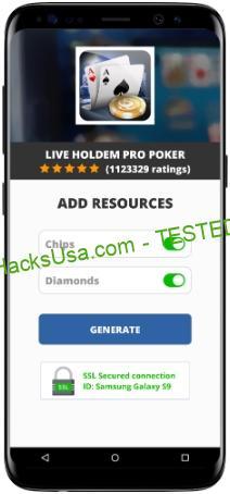 Live Holdem Pro Poker MOD APK Unlimited Chips Diamonds