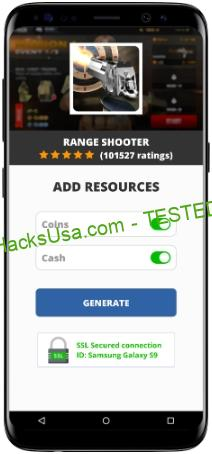Range Shooter MOD APK Unlimited Coins Cash
