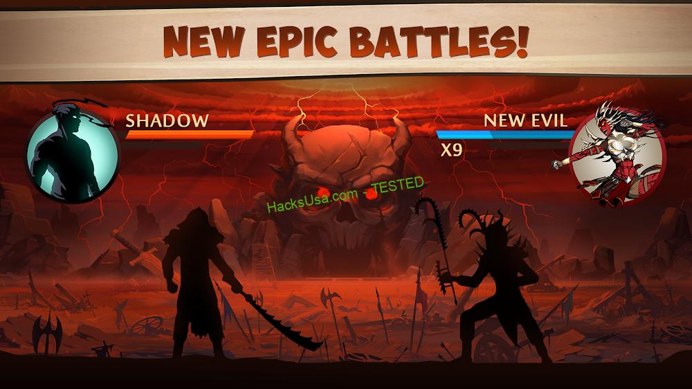 Shadow Fight 2 (MOD, Free Shopping)